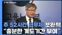 """""""내년 주52시간제 시행 중소기업에 '충분한' 계도 기간 부여"""" / YTN"""