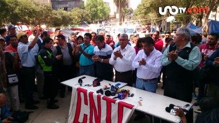 Ana Paula Cinta | ¡Plazas automáticas para la CNTE!