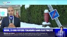 Neige: Enedis affirme que 33.000 foyers sont toujours privés d'électricité dans la Drôme, l'Ardèche et l'Isère