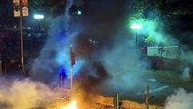 Hongkong: Demonstranten setzen Uni in Brand - Polizei schießt scharf