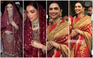 Deepika Padukone's Sindhi And South Indian Avatars On Her 1st Wedding Anniversary Are Gorgeous To A T!