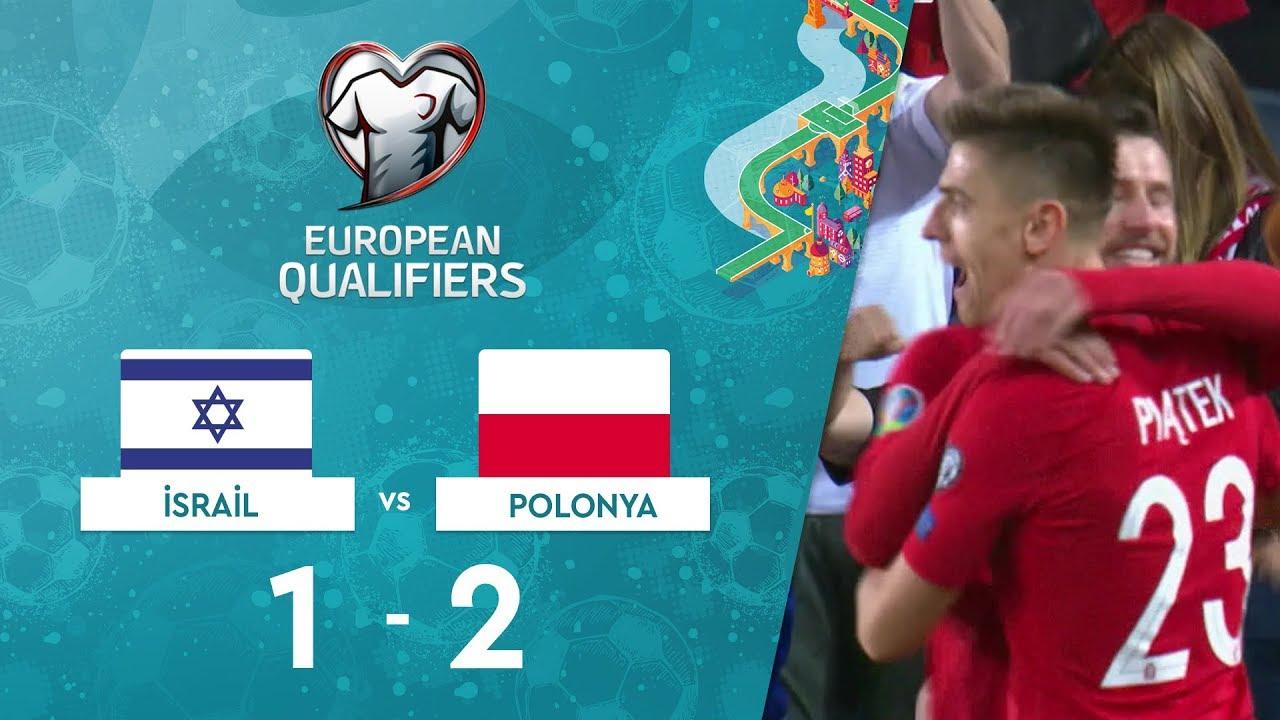 İsrail 1-2 Polonya | EURO 2020 Elemeleri Maç Özeti - G Grubu