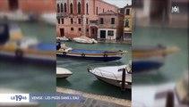 Venise fait ace à une troisième montée des eaux dévastatrice - Découvrez les images impressionnantes !