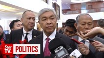 Zahid echos calls for Parliament's dissolution, saying Tanjung Piai's victory is a 'signal'