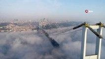 Sisli İstanbul'un Masalsı Manzarası Havadan Görüntülendi