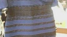 Selon vous, cette robe est-elle blanche ou bleue ?