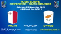 MALTA / CYPRUS - RUGBY EUROPE CONFERENCE 1 SOUTH 2019/2020