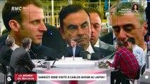 Le monde de Macron: Sarkozy rend visite à Carlos Gohsn au Japon - 18/11
