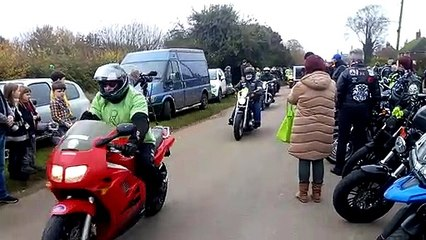 Harry Dunn Justice for Harry motorcycle ride