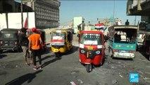 """Les chauffeurs de """"tuk-tuk"""", précieux alliés des manifestants irakiens"""