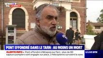 """Maire de Mirepoix-sur-Tarn: """"On était très vigilant de ne pas avoir de gros poids-lourds sur ce pont"""