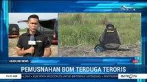 Polda Sumut Musnahkan Bom Milik Terduga Teroris di Hamparan Perak