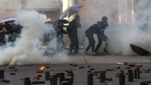 Police surround Hong Kong Polytechnic University campus in stand-off with protesters