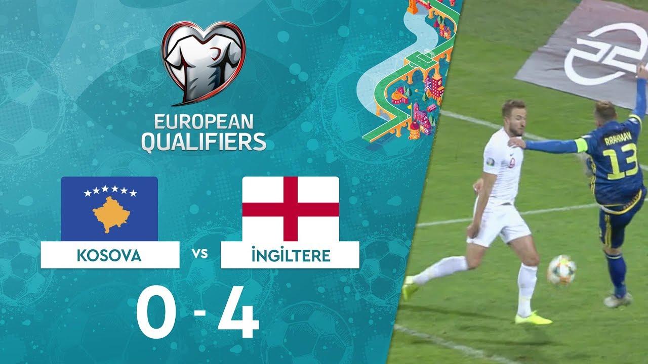 Kosova 0 - 4 İngiltere | EURO 2020 Elemeleri Maç Özeti - A Grubu