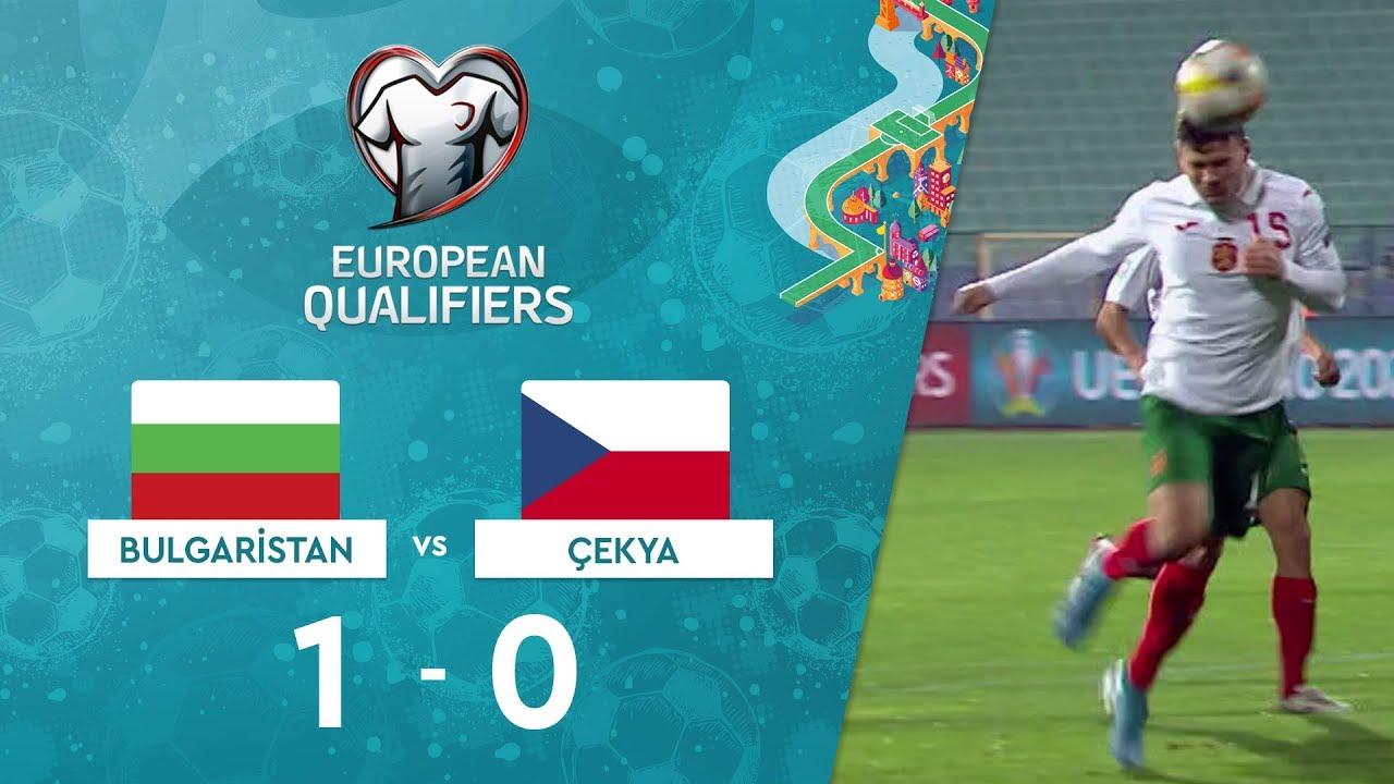 Bulgaristan 1-0 Çekya | EURO 2020 Elemeleri Maç Özeti - A Grubu