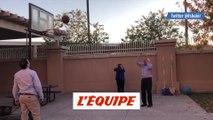 Bernie Sanders enchaîne les paniers - Basket - WTF