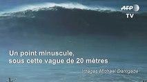 Surf: à Nazaré, Justine Dupont dompte une vague gigantesque