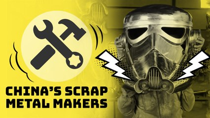 Turning scrap metal into robots and dinosaurs