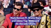 These Stars Made The Top 'Billboard' All Decade Charts