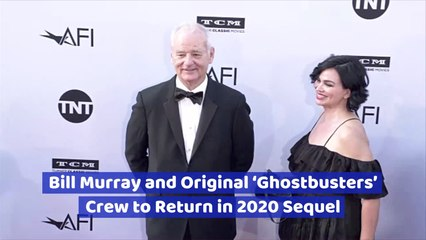 The Original 'Ghostbusters' Cast Is Back