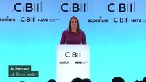 Swinson vows to scrap business rates if they win election