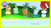 Peppa Pig English Character Episodes New Spiderman VS Hulk Finger Family Nursery Rhymes And Action