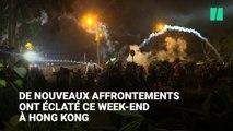 À Hong Kong, la police menace de tirer à balles réelles après un week-end de tensions