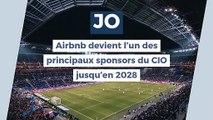 """JO : Airbnb devient l'un des principaux sponsors du CIO jusqu'en 2028, Hidalgo pointe des """"risques"""""""