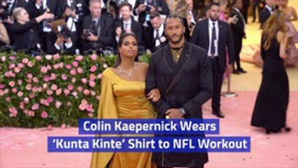 An NFL Workout Meets Colin Kaepernick Fashion