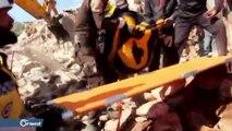 طائرات الاحتلال الروسي تواصل قصفها لمدن وبلدات إدلب