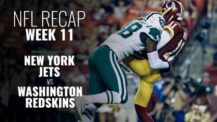 Week 11: Jets v Redskins