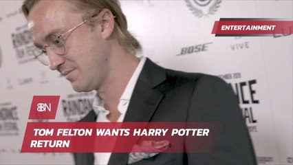 Tom Felton's Thoughts On 'Harry Potter'