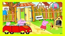 Peppa Pig Crying Makeup Funny Story   Finger Family Nursery Rhymes Lyrics Parody