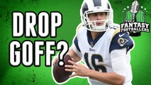 Fantasy Football - Does Jared Goff Belong on the Waiver Wire?