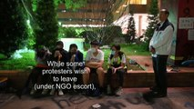 NGOs enter Polytechnic University in Hong Kong to meet with protesters