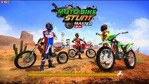 Moto Bike Racing Stunt Master 2019 - Stunt Motor Games - Android Gameplay Video #2