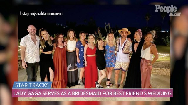 Lady Gaga Serves as a Bridesmaid for Her Best Friend's Wedding: 'Time to Party!'