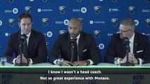 New Montreal coach Thierry Henry has learnt from Monaco failure