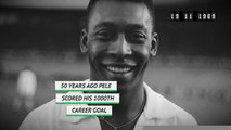 On This Day - Pele scores his 1000th goal