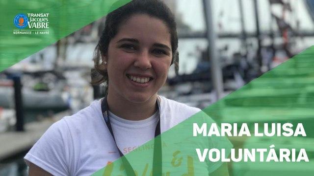 Entrevista com a voluntária da regata
