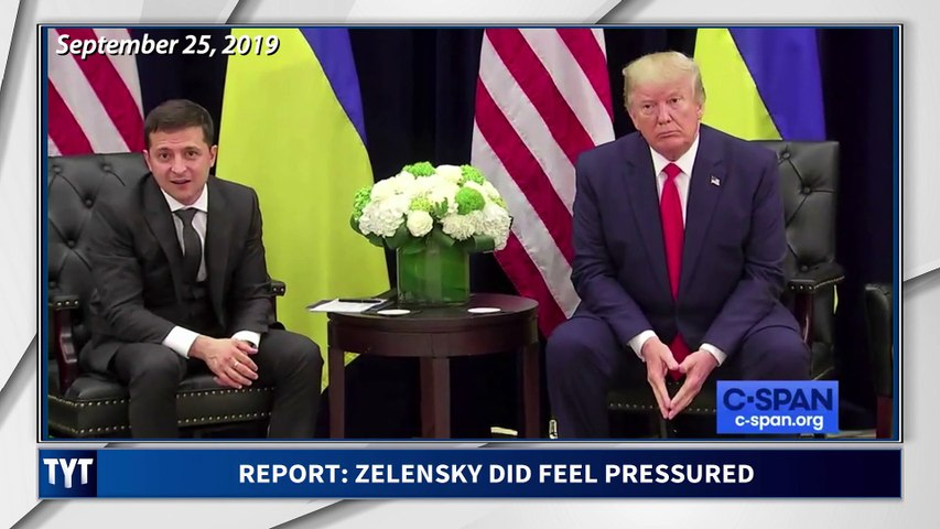 LEAK: Zelensky Felt Pressure From Trump
