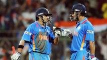 Gautam Gambhir blames Dhoni's reminder for missed century in 2011 World Cup final | Oneindia Kannada