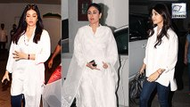 Aishwarya, Kareena, Shilpa Pay Last Respects To Manish Malhotra's Father
