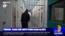 DOCUMENT BFMTV - Dans les coulisses du nouveau quartier de prévention de la radicalisation de la prison de la Santé à Paris