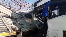 Yolcu otobüsüyle tır çarpıştı: 2 ölü (3) - AFYONKARAHİSAR