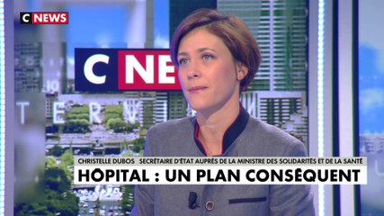 Christelle Dubos - CNews mardi 19 novembre 2019