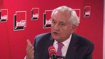 """Jean-Pierre Raffarin : """"En Chine, l'Etat et le parti, c'est la même chose. A Hong-Kong, ils savent que leur intérêt est de ne pas intervenir, qu'ils seront condamnés par l'Occident s'ils interviennent."""""""