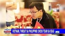Vietnam, threat sa Philippine chess team sa SEAG