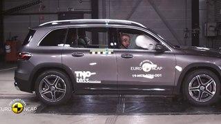 VÍDEO: Mercedes GLB 2020, así funciona en caso de choque
