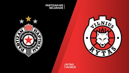 7Days EuroCup Highlights Regular Season, Round 8: Partizan 86-81 Rytas